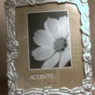 "Interior Accents Frames 8"" x 10"" Roses Wedding Picture Frame in Silver"