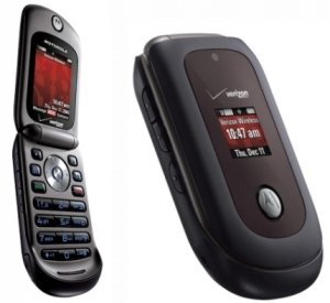 Verizon Page Plus Motorola Vu204 Flip Cdma Camera Cell Phone