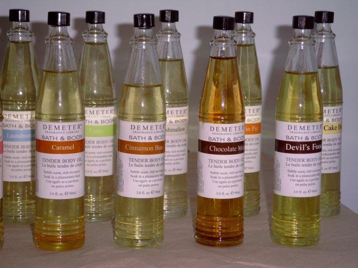 Demeter Fragrance Library Tender Body Oil - Cinnamon Bun