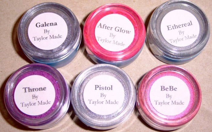 Taylor Made Minerals - 6 pc Pinks/Silvers