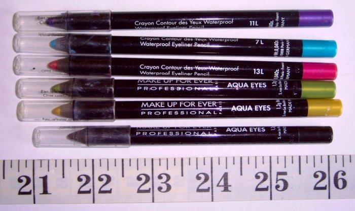 17L Pistachio MUFE Aqua Eyes Waterproof Eyeliner Pencil