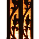 10 inch Small Bamboo Carved Wood Electric Lantern Light Table Lamp Small for Bedroom