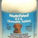 NutriVed OFA Chew Tabs for Large Dogs 60 ct