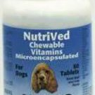 NutriVed Chewable Vitamins For Dogs 60ct