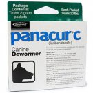 Panacur C Canine for Medium Dogs Dewormer 2-Gram Packages (Each Packet Treats 20 lbs), 3ct.
