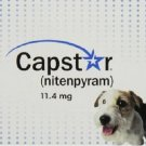 Capstar Flea Treatment 11.4mg (#6) Tablets Dogs & Cats 2-25 lbs FREE SHIPPING