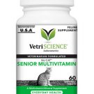 Nu-Cat Senior Chew Tabs Multi-Vitamin/Mineral Supplement for Cats 60ct