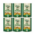 Case of 6 Bags Greenies Pill Pockets for Cats Chicken 1.6oz x SIX BAGS
