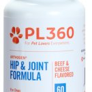 Arthogen Beef & Cheese Flavored Chewable Glucosamine Chondroitin Tablets for Dogs Bottle of 60