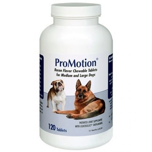 ProMotion Glucosamine Joint Supplement for Medium & Large Dogs 120 count