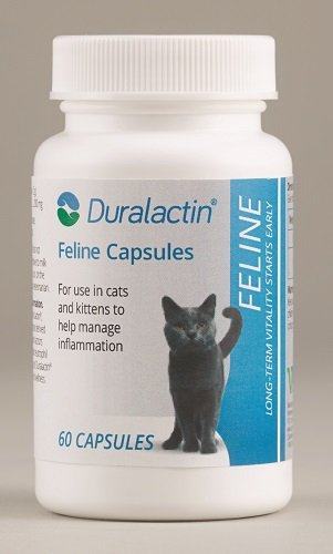 Duralactin Feline 200mg Non-Flavored Joint Health Supplement 60 count