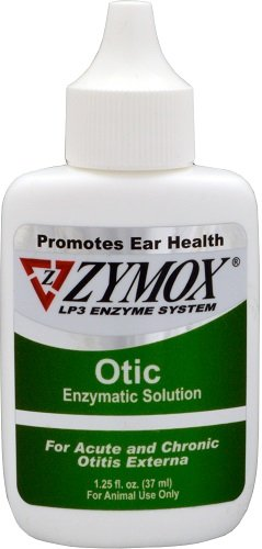 Zymox Otic Enzymatic Solution without Hydrocortisone - Green 1.25oz