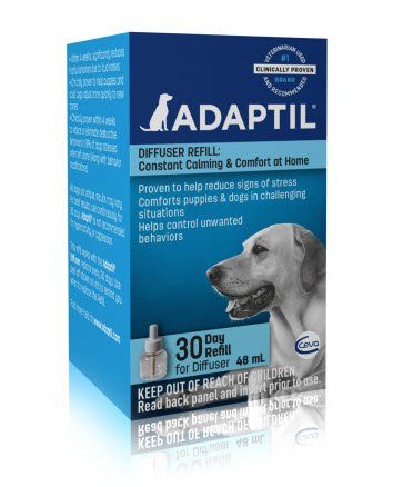 ADAPTIL Dog Appeasing Pheromone Canine Diffuser Refill - 30 days (48CC)