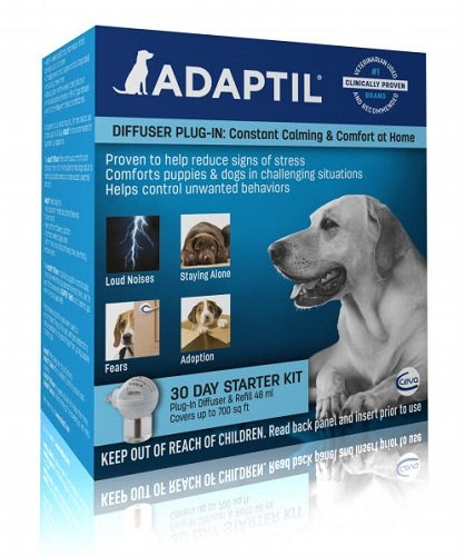 ADAPTIL Starter Kit - New Diffuser + 30 day Refill Dog Appeasing Pheromone Plug In