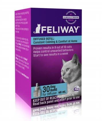 Feliway Cat Calming Appeasing Pheromone Diffuser Refill 48ml (30 days)
