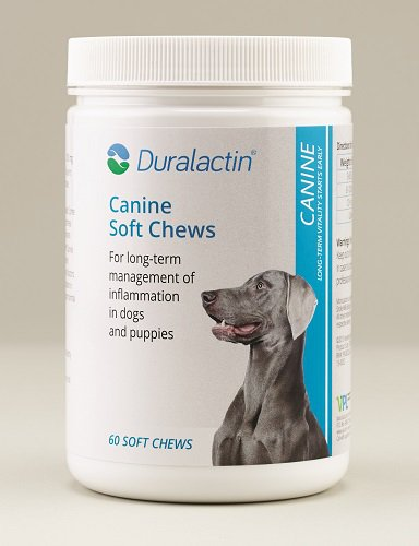 Duralactin Canine Joint Support MicroLactin Soft Chews 60 count