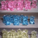 """Teddy Bear Baby Shower Charms Favors 144 Assorted 1"""""""