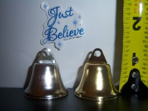 Bells Metal Ring a Bell Kiss Wedding Silver 100