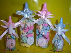 """Bottles Jumbo Baby Shower 144 ASSORTED Favors 5"""""""