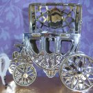 Cinderella Carriage Wedding Favors Silver 100