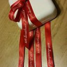30 yards continuous print PERSONALIZED RIBBONS Wedding XV Bridal Baby Shower