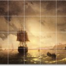 Aivazovsky Ships Wall Kitchen Tiles Traditional Home Decorating