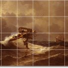 Aivazovsky Waterfront Murals Wall Dining Room Tile Modern Decor