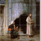 Alma-Tadema Men Women Backsplash Mural Tiles Commercial Design