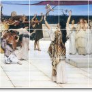 Alma-Tadema Historical Living Room Mural Tile Home Design Decor