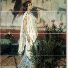 Alma-Tadema Women Tile Room Mural Remodeling Interior Design Idea