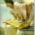 Alma-Tadema Historical Living Mural Tile Room Design Decor Home