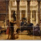 Alma-Tadema Historical Living Tile Mural Room Decor Design Home