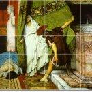 Alma-Tadema Historical Mural Living Room Tile Modern Remodeling