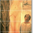 Alma-Tadema Nudes Murals Tile Room Dining House Renovation Design