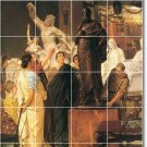 Alma-Tadema People Mural Kitchen Wall Remodel Commercial Ideas
