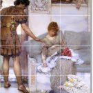 Alma-Tadema Men Women Floor Kitchen Tiles Decor Decor Interior
