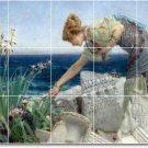 Alma-Tadema Women Living Tile Murals Room Design House Renovation