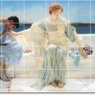Alma-Tadema Men Women Dining Floor Room Tile Residential Decor