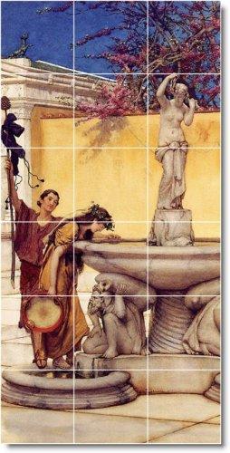 Alma-Tadema Men Women Room Floor Tiles Renovation House Modern