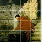 Alma-Tadema Men Women Dining Mural Tiles Room Commercial Decor