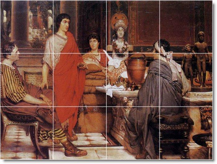 Alma-Tadema Historical Floor Kitchen Tile Decorate Modern House