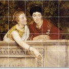 Alma-Tadema Women Murals Wall Bathroom Wall House Decorating Idea