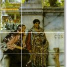 Alma-Tadema Historical Backsplash Tile Wall Murals Design House