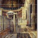 Alma-Tadema Historical Mural Living Tiles Room Wall Decor Floor