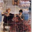 Alma-Tadema Women Mural Kitchen Tiles Wall Backsplash Modern Home
