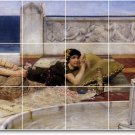Alma-Tadema Women Mural Backsplash Kitchen Wall Tiles Home Modern