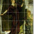Alma-Tadema Men Women Living Mural Tile Room Design Decor Home