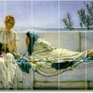 Alma-Tadema Women Room Mural Dining Wall Wall Ideas Home Renovate