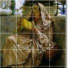 Alma-Tadema Women Living Room Wall Tiles Mural Design House Decor