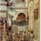 Alma-Tadema Historical Backsplash Wall Murals Wall Decor Modern